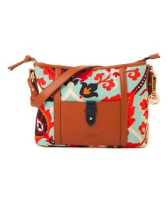 Loving this Multicolor Waving Girl Shoulder Bag on #zulily! #zulilyfinds