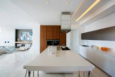 Green Point House #Kitchen #Three14 Architects