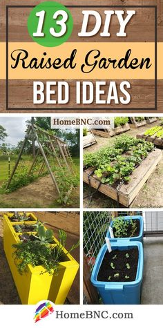 Lovely Raised Garden Beds Diy Pallets 13 Best DIY Raised Garden Bed Ideas and Designs for 202...#bed #beds #designs #diy #garden #ideas #lovely #pallets #raised Garden Stand, Garden Boxes, Garden Care, Gardening For Beginners, Gardening Tips, Making Raised Garden Beds, Raised Beds, Diy Garden Bed, Raised Vegetable Gardens