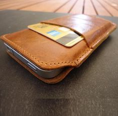 genuine leather case fit for iphone 4s