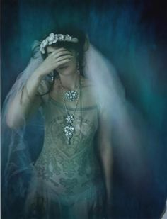 ☫ A Veiled Tale ☫ wedding, artistic and couture veil inspiration - Camille Lescure 66