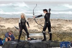 Jennifer Lawrence Shoots 'Hunger Games'