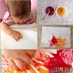 Tinta comestível para bebês: confira sete receitas