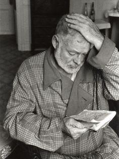 Ernest Hemingway in Paris, September 14, 1956