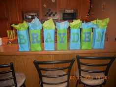 Rock Star Baby Shower Party Ideas | Photo 9 of 12 | Catch My Party