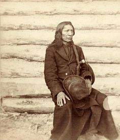 """Chief Red Cloud. Oglala Lakota. 1870s. Photo by Stanley J. Morrow. """"Hear me, my friends, for it is not the time for me to tell you a lie.  The Great Spirit made us, the Indians, and gave us this land we live in.  He gave us the buffalo, the antelope, and the deer for food and clothing.  We moved our hunting grounds from the Minnesota to the Platte and from the Mississippi to the great mountains.  No one put bounds on us.  We were free as the winds, and like the eagle, heard no man's…"""