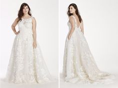11 Dreamy Plus-Size Wedding Gowns from the Most Unexpected Place via Brit + Co.