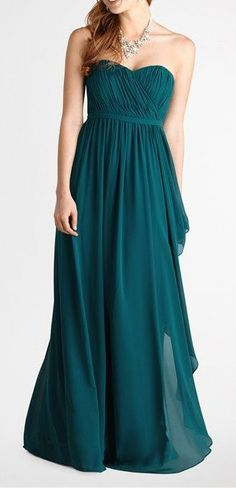 style for a maid of honor dress