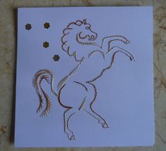 Cavallo http://crocettando.wordpress.com/2013/09/28/defi-38-carte-brodee/