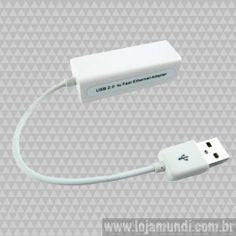 Adaptador USB para Rede Ethernet
