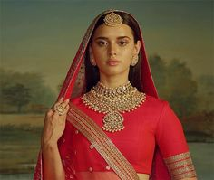 Bridal Jewelry Sabyasachi Bridal Jewellery - Here is all that we loved from the Sabyasachi' Jewellery collection for the to-be brides this season. Indian Bridal Fashion, Indian Wedding Jewelry, Indian Jewelry, Bridal Jewelry, Bridal Jewellery Collections, Egyptian Jewelry, Indian Weddings, Anushka Sharma, Bridal Lehenga