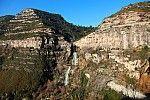 Cascada de Sant Miquel del Fai, vista general