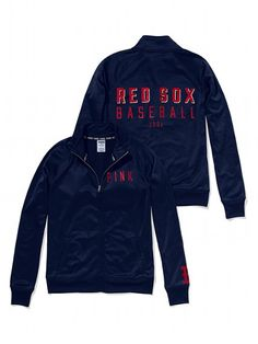 PINK Boston Red Sox Track Jacket #VictoriasSecret http://www.victoriassecret.com/sale/pink/boston-red-sox-track-jacket-pink?ProductID=109067=OLS?cm_mmc=pinterest-_-product-_-x-_-x