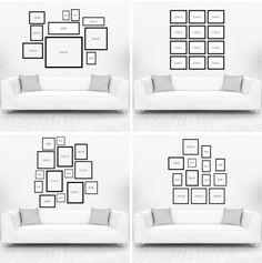 Como fazer uma composição de quadros