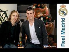 Ver Gareth Bale & Luka Modric wish you a Happy New Year