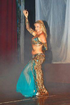 belly dancing costume