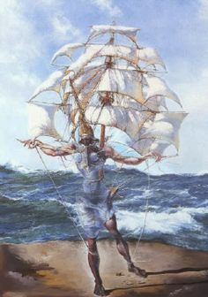 El barco, Dalí