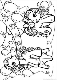 My Little Pony Coloring Pages 57