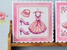 cross stitch  pink ile ilgili görsel sonucu