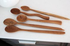 Make every day things more beautiful! Natural wooden spoons add beauty and texture to a kitchen.