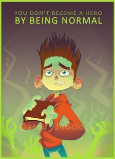 Watching Paranorman tonight. I've been on a movie watching marathon in the last 24 hours as it seems.
