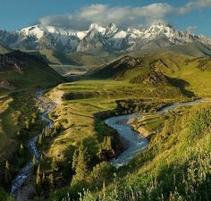 Kyrgyztan Mountains I have been all through this region in Central Asia. Beautiful place!