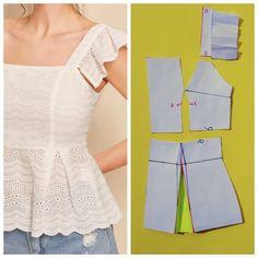 Diy Clothing, Sewing Clothes, Dress Sewing Patterns, Clothing Patterns, Fashion Sewing, Diy Fashion, Costura Fashion, Sewing Basics, Diy Dress