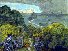 Thunderstorm at Vernouillet Pierre Bonnard - 1908