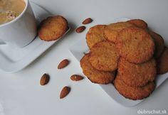 Kokosovo-mandľové fit sušienky