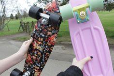 I don't skateboard but i like skateboards.