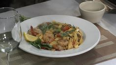Cooking with Chef Hermann: Chorizo Poached Shrimp Fettuccine - Heritage Broadcasting