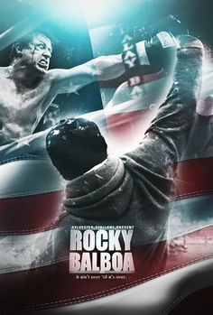 Rocky Balboa is a 2006 American sports drama film written, directed by, and… Best Movie Posters, Cinema Posters, Film Posters, Movie Photo, I Movie, Frases Rocky, Rocky Film, Rocky 3, Rocky Balboa Poster