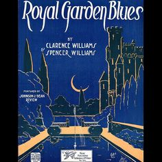 Spencer and Clarence Williams were not related though they both came from #NewOrleans and wrote many songs together. This one celebrates a Chicago nightclub at 459 East 31st St. called the Royal Gardens, one of the hottest nightclubs in Chicago during the first decades of the 20th century.  It was said that it could accommodate 1000 dancers. Louis Armstrong came to fame here in 1922 when he joined the great King Oliver's Creole Jazz Band. #roaring20s