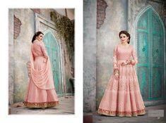 BELLA- Vintage designer Anarkali dresses for wedding and party Designer Anarkali Dresses, Pakistani Designer Suits, Designer Party Dresses, Indian Anarkali, Indian Gowns, Anarkali Suits, Churidar Suits, Floor Length Anarkali, Queen Fashion