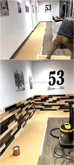 wooden pallet wall art