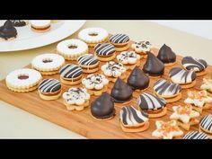Všetka táto nádhera z 1 cesta: Univerzálne medové cesto na vianočné pečivo – koláčiky z neho objednávajú aj na svadby! Cookie Desserts, Cookie Recipes, Dessert Recipes, Pan Dulce, Cake Cookies, Cupcake Cakes, Patisserie Fine, Decadent Cakes, Best Christmas Cookies