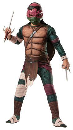 cd383dc70b56 Ninja Turtles Movie Deluxe Raphael Child Costume