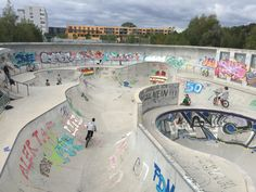 Skate Park, Urban, Munich, City, Skating, Image, Places To Travel, Roller Blading, Cities