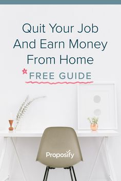 An eleven chapter guide full of lessons and advice to help anyone become a freelancer. Proposal Writing, Quitting Your Job, Earn Money From Home, Be Your Own Boss, Influencer Marketing, Proposals, Home Free, Writing Tips, Entrepreneurship