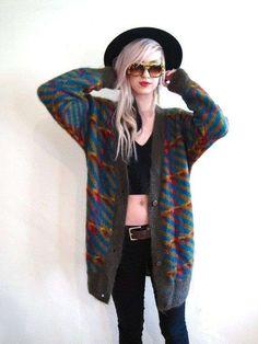 Moda anni 90  tutte le tendenze - Cardigan vintage anni 90 K Fashion 0b5a0799a90