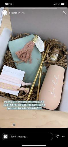 Bridesmaid Proposal Gifts, Bridesmaids, Pastel, Messages, Bridesmaid, Text Posts, Color Palettes