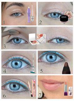 »  Primer Potion – Urban Decay »  Aqua Cream – Make Up For Ever (Teinte 16) »  Eyeshadow Palette – Kiko (Tender Corals) »  Vibrant Eye Pencil – Kiko (Teinte 606) »  Cream Touch – Kiko (Teinte 02) »  High Brow – Benefit »  Aqua Smoky Lash – Make Up For Ever »  Rouge à lèvres – Yves Rocher (Teinte Bois de rose)  http://myprettylittlereviews.fr/copycat-du-visuel-hydra-vegetal-by-yves-rocher/