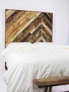 Buy or DIY: 12 Creative Wood Headboards