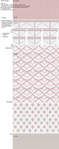 Ilmainen naisten polvisukkien villasukkien ohje - Taito Itä-Suomi Diy Crafts, Sewing, Knitting, Crochet, Knits, Dressmaking, Couture, Tricot, Make Your Own