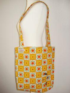 Tasche aus original Retrostoff  #Tasche #Retro #Vintage