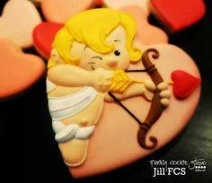 Valentine's Day Cupid (Heart Cookie Cutter)