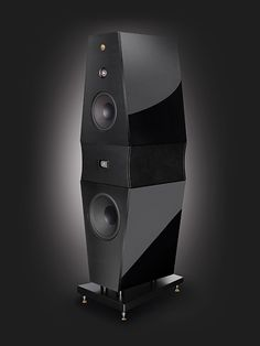 """The """"Rosso Fiorentino"""" Volterra speaker pair costs $13,000, but when mated with AMR electronics rivaled the far more expensive Coincident speakers in naturalness.  Both this and Coincident outperformed the even more expensive Sony SS AR1's."""
