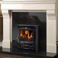 http://www.gr8fires.co.uk/arizona-denver-609-black-enamel-multi-fuel-5-5-kw-inset-stove/?utm_source=Social&utm_medium=Social - Arizona Denver 609 Black Enamel Multi Fuel 6.5 - 7.8 kW Inset Stove Woodburner