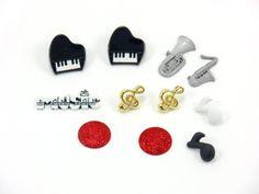 *Music * button set from Die Nähfee DIY by DaWanda.com