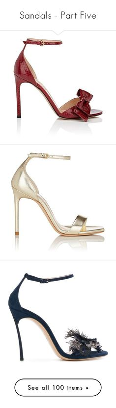 """""""Sandals - Part Five"""" by miriam83 ❤ liked on Polyvore featuring shoes, sandals, dark red, stiletto sandals, ankle strap high heel sandals, valentino shoes, high heel stilettos, open toe stilettos, heels and zapatos"""